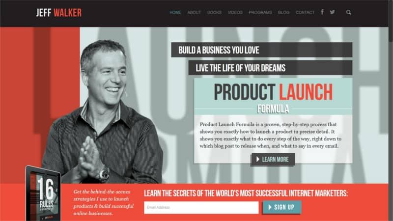 jeff walker product launch formula pdf
