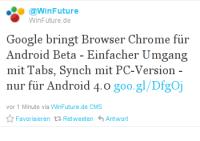 Google Chrome für Android Beta ist da - Alle Infos