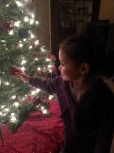 Zaria's Christmas morning