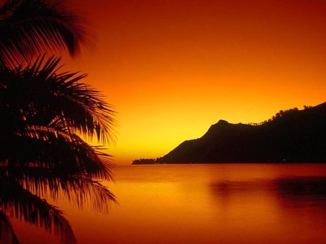 Amazing Sunset background