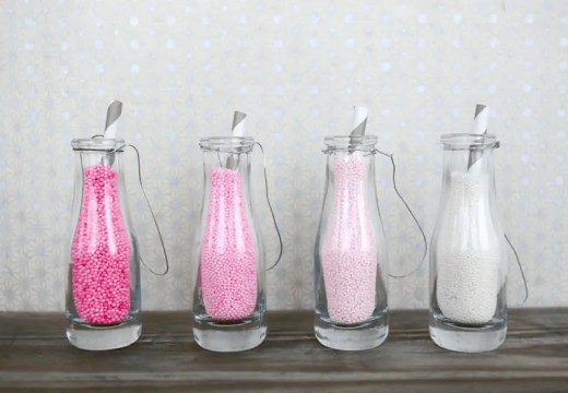 how to tint your own sprinkles via sugar and cloth