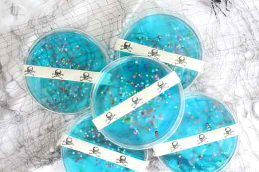DIY petri dish jell-o recipe