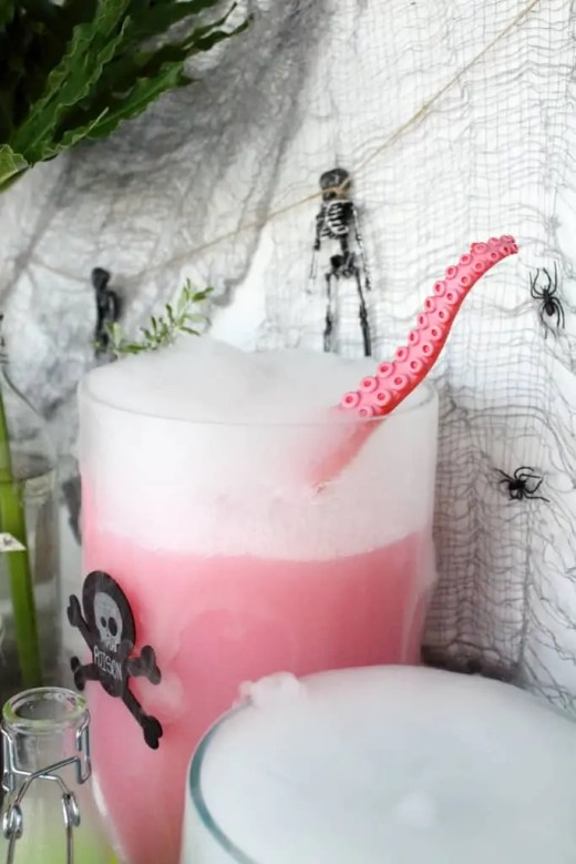 DIY creepy animal ladle for halloween by sugar and cloth