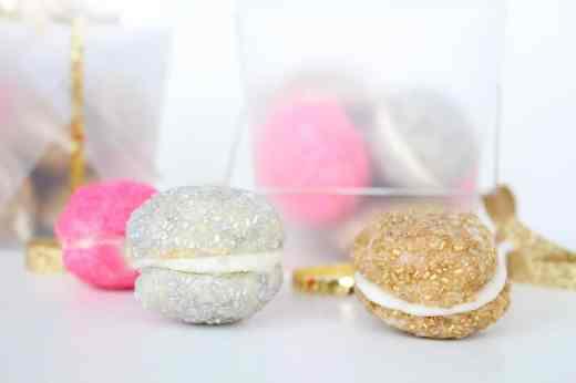 glittering cookie sandwich recipe