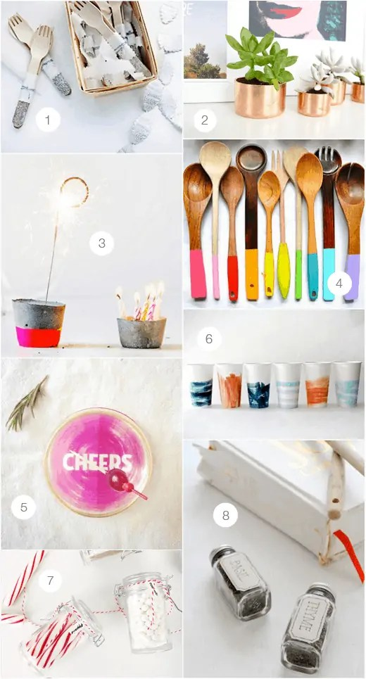 DIY hostess gift ideas