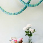 DIY // Pool Noodle Garland