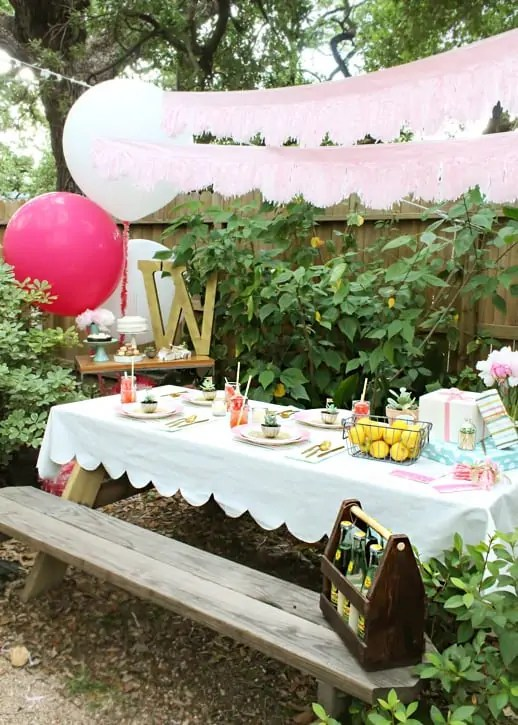 evening dinner party by sugar and cloth #MarthaCelebrations #LetsCelebrate