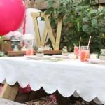 DIY // Scalloped Tablecloth