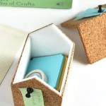 DIY // Cork Storage Boxes