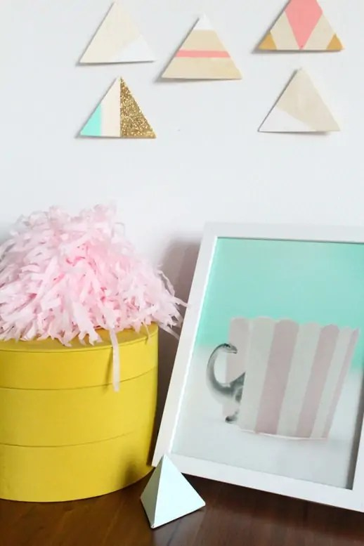 DIY mobile wall art