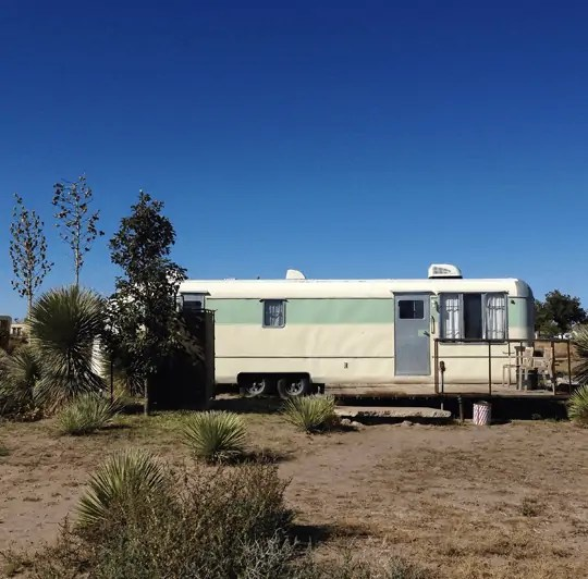 stay at el cosmico marfa, texas
