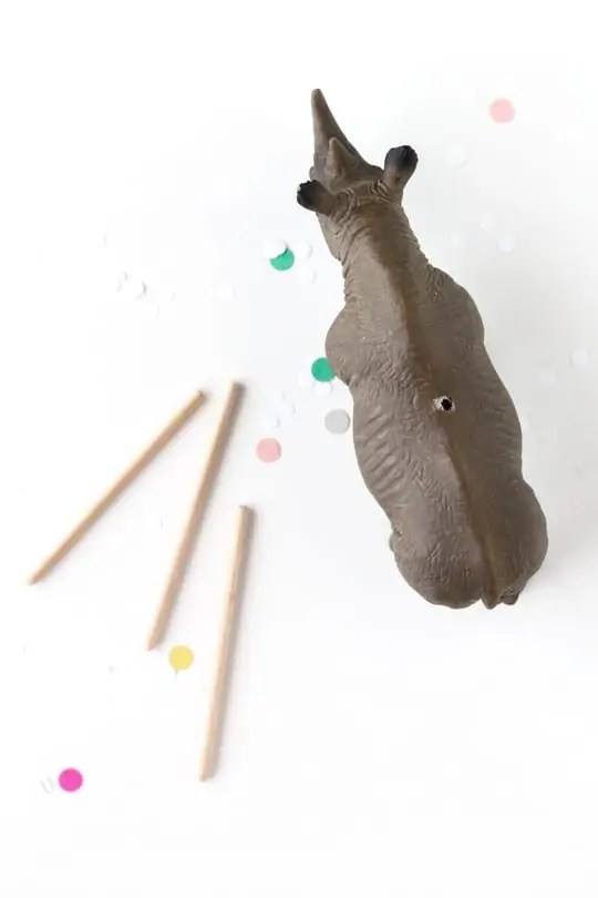 DIY memo animals