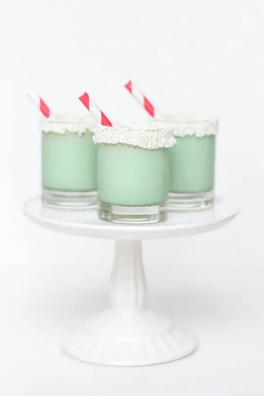 Christmas cookie ice cream shots - Sugar & Cloth - Recipe