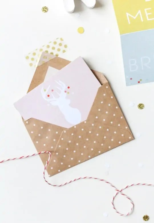 DIY Printable accordion gift tags - Sugar & Cloth - DIY