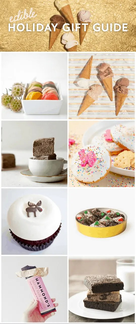 cute and modern edible gift guide!