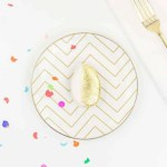 DIY Edible Golden Egg Place Settings