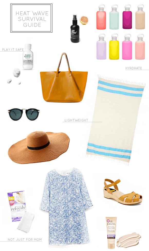 summer survival guide | sugarandcloth.com