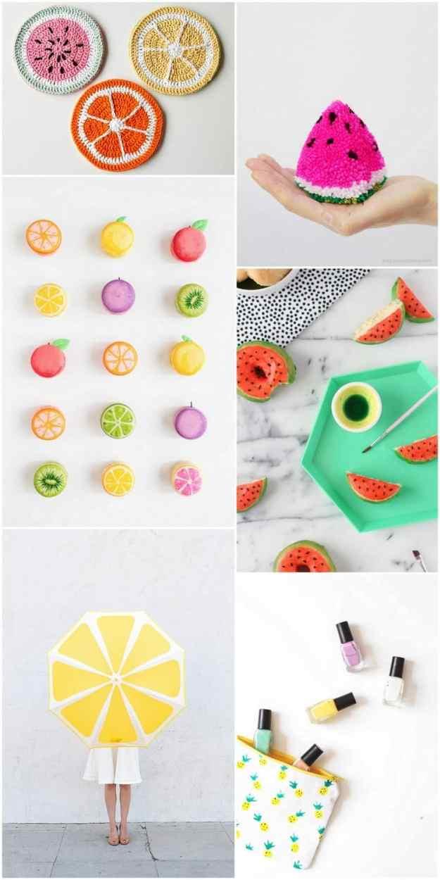 6 must-try fruit DIY's | sugarandcloth.com