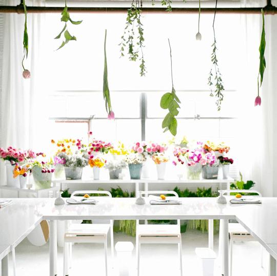 the Sugar & Cloth floral workshop   sugarandcloth.com