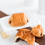 two ingredient chocolate croissant recipe   sugar & cloth