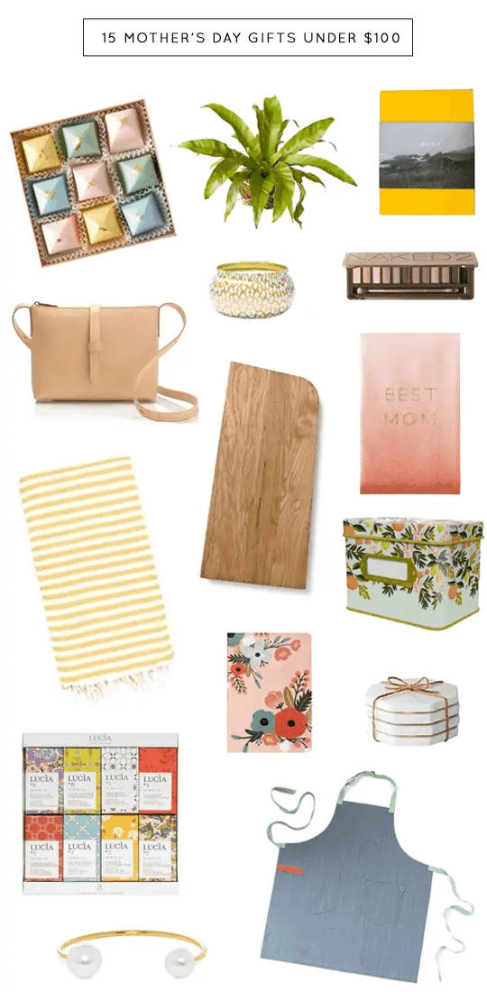 15 Mother's Day Gift Ideas under $100 | sugar & cloth