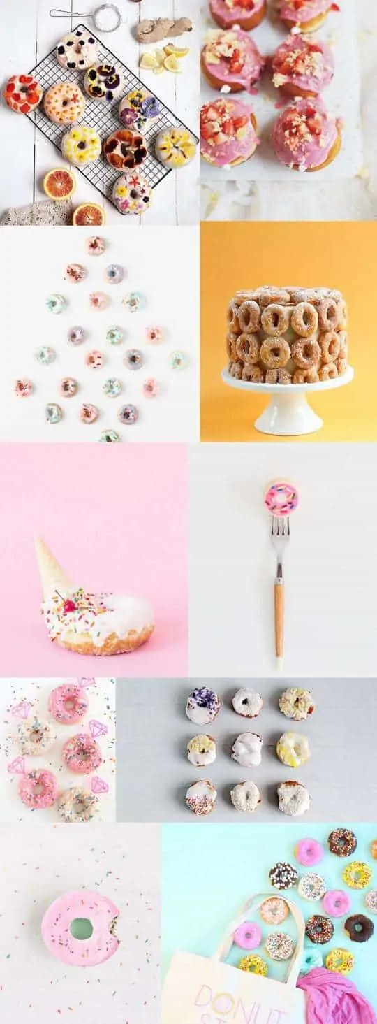 10 Recipes and DIY's to celebrate donuts | sugar & cloth