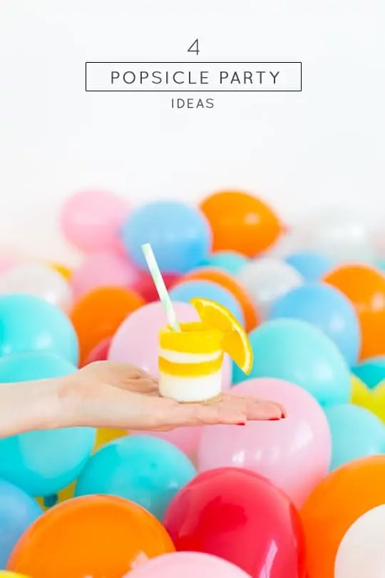 4 Popsicle party ideas to try - Sugar & Cloth - #DIY #Recipe