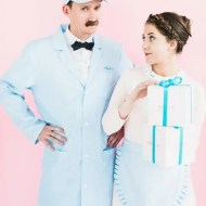 Hipster Halloween: DIY The Grand Budapest Hotel couples costume idea - Sugar & Cloth - Mendl's