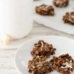 No-Bake Chocolate Almond Cookies Recipe