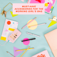 must have accessories for the working girls bag! - sugar and cloth - best DIY blog - style - ashley rose