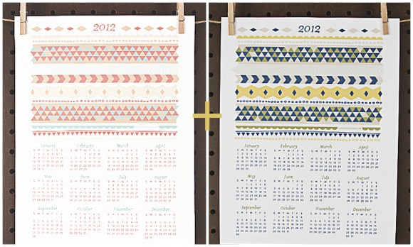 free printable 2012 yearly calendar