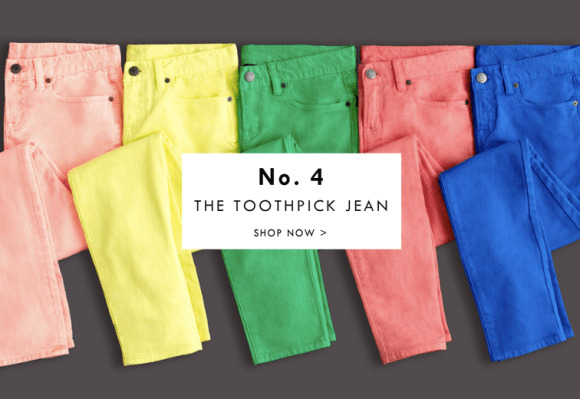 jcrew 12 essentials for 2012