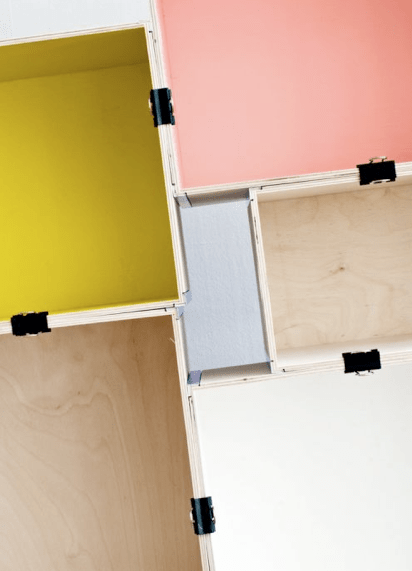 ikea prant box color shelves