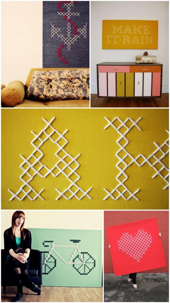 jessica decker modern cross stitch wall art