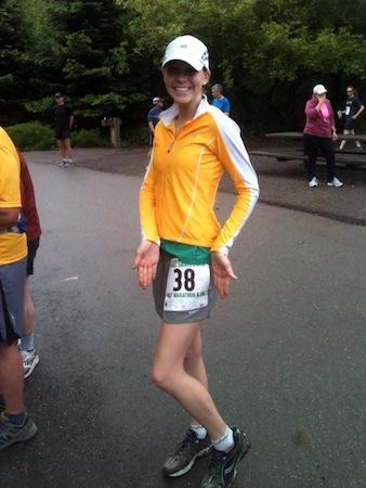 0604laurenbefore Lake Chabot 5K and Half Marathon