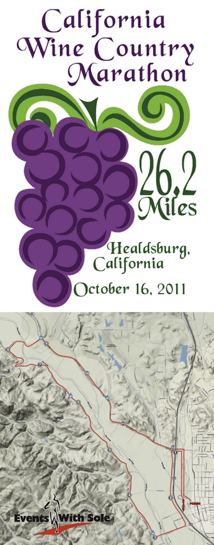 winecountryhalfmarathon California Wine Country Half Marathon, Healdsburg, 2011