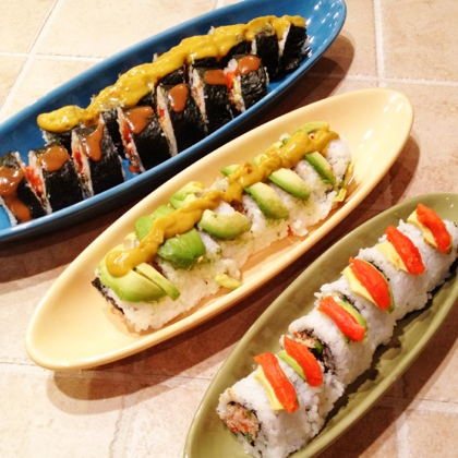 20120226 125925 Homemade Sushi Rolls