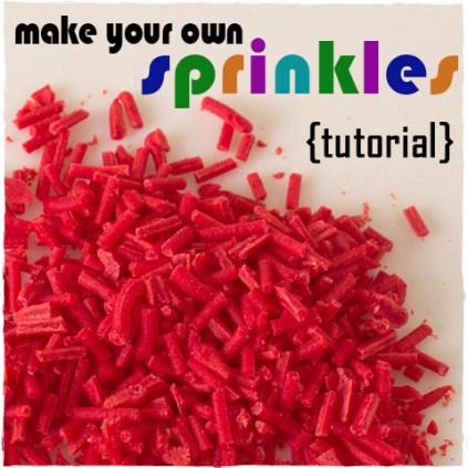 How To Make Sprinkles | sugarkissed.net