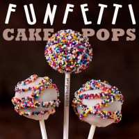 How To Make Colorful Funfetti Cake Pops