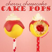 Cherry Cheesecake Cake Pops + Cupcakery Giveaway