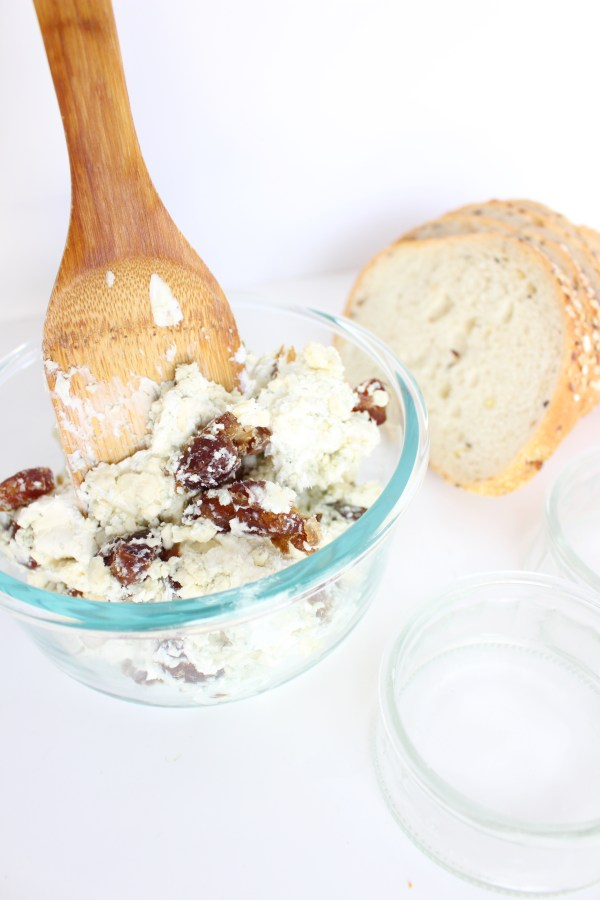 Three Cheese and Date Dip