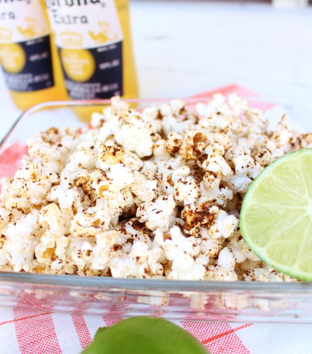... ! Break out the sombreros and tequila…and Chili Lime Popcorn