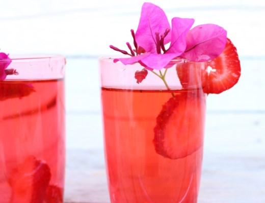 strawberry molasses cocktail recipe