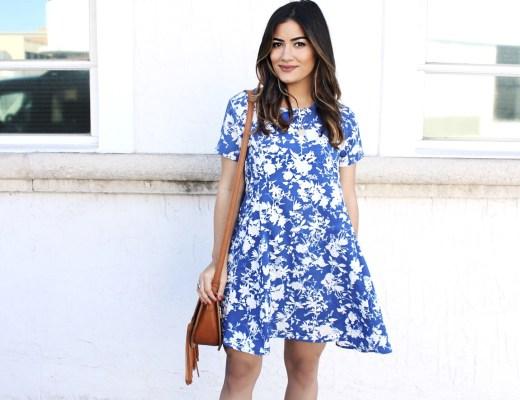 A Chic Shirt Dress