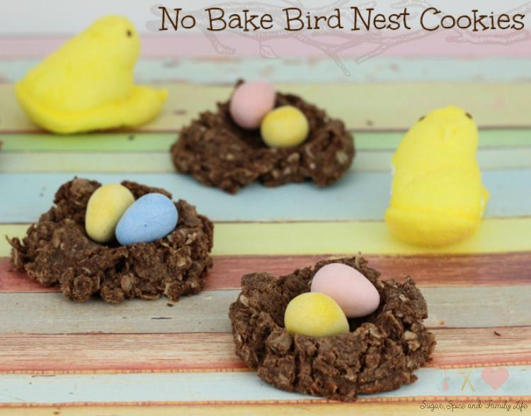 No-Bake-Bird-Nest-Cookies