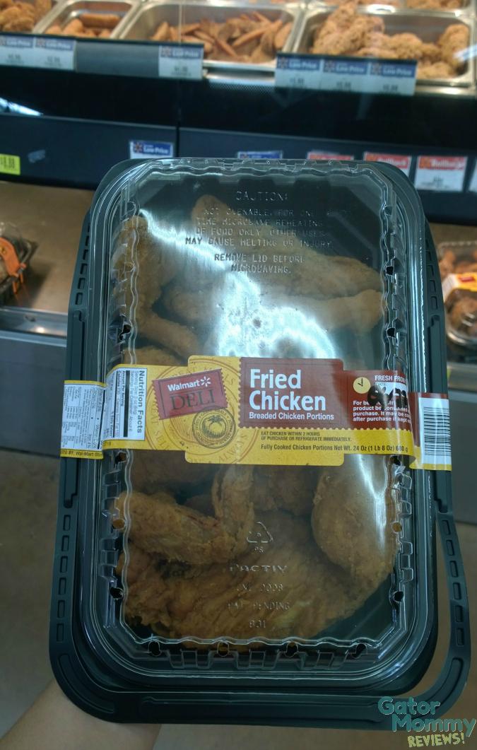 Fried Chicken at Walmart