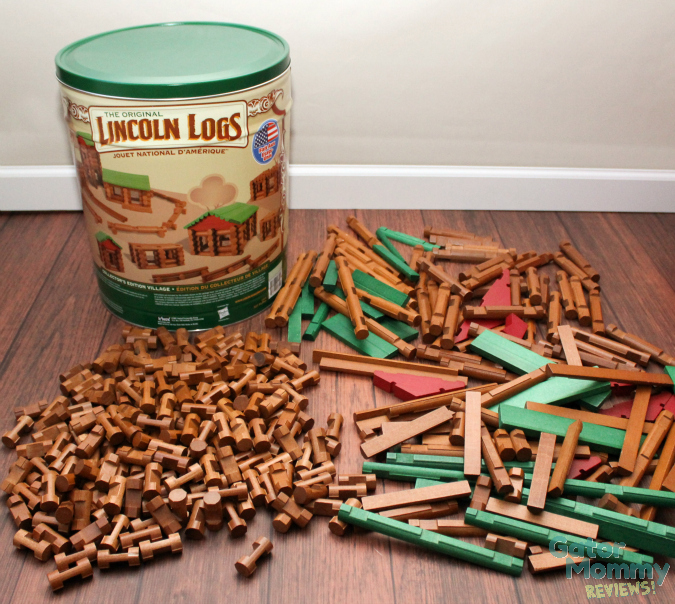 Building With Lincoln Logs Sugar Spice And Family Life