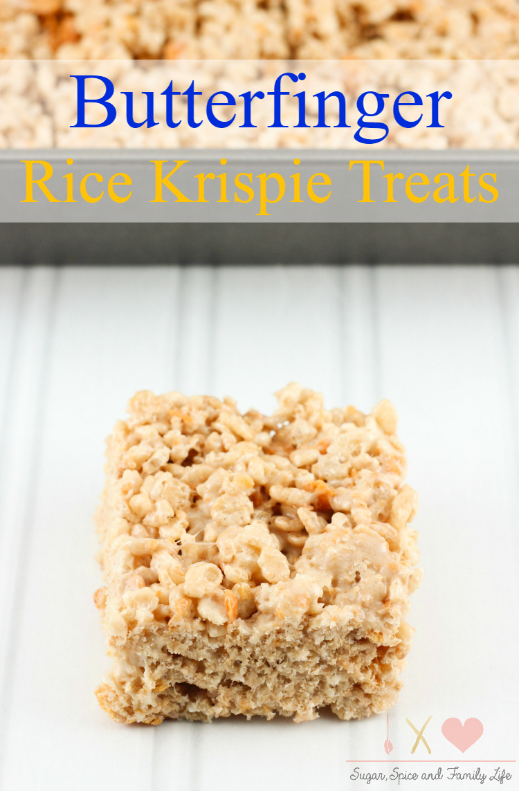 Butterfinger Rice Krispies