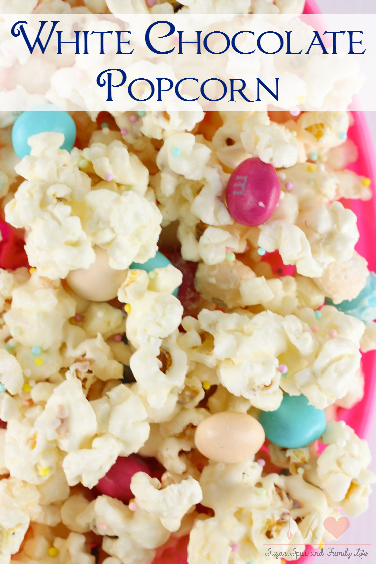 popcorn life White chocolate and mint candies makes this mint grinch popcorn a fun treat to munch on while you wrap gifts or watch holiday movies.