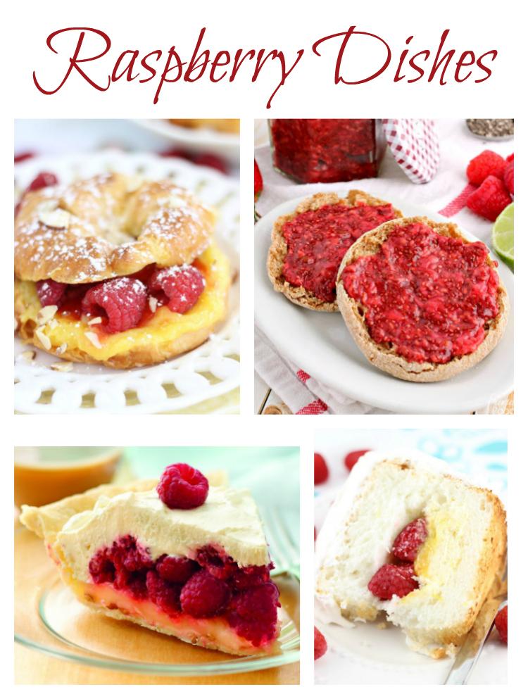 Raspberry Dishes